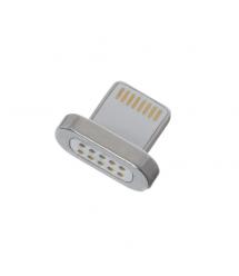 Наконечник на магнитный кабель плоский USB 2.0/Lighting ( под кабель 15592 )