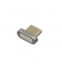 Наконечник на магнитный кабель плоский USB 2.0 - Micro ( под кабель 13191 - 9165 )