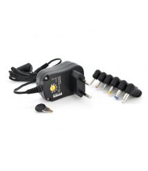 Универсальный БП Input 100V-240V 50-60Mhz, Output :3V-12V-1A 12W, 6 Г-образных разъемов 2.35*0.7