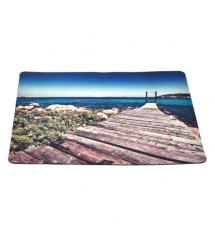 Коврик для мыши 240*200 тканевой Пляж, толщина 2 мм, Пакет