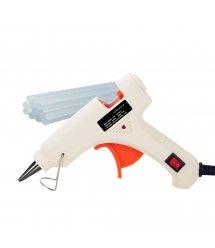 Пистолет клеевой с питанием от 220V HS-6503 50W, клей диаметром-7мм, White, Blister