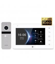 Комплект видеодомофона NEOLIGHT NeoKIT HD Silver