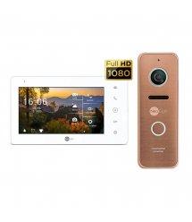 Комплект домофона Neolight NeoKIT HD Pro Bronze