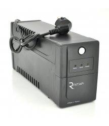 ИБП Ritar RTP800L-U (480W) Proxima-L, LED, AVR, 2st, USB, 2xSCHUKO socket, 1x12V9Ah, plastik Case ( 300 x 95 X 140 ) Q4