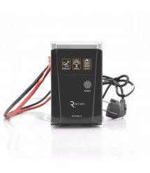 ИБП с правильной синусоидой RITAR RTSW-600 LED (360Вт), 12В , под внешний АКБ, Q4 (320*132*210) 4,2 кг (260*85*140)