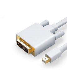 Конвертер mini Display Port (папа) на DVI24+1(папа) 1.8m (пакет)