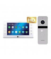 Комплект видеодомофона Neolight KAPPA+ HD / Solo FHD Silver