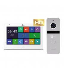 Комплект видеодомофона Neolight MEZZO HD / Solo FHD Silver