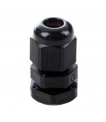 Кабельный спиральный водонепроницаемый разъем PG7, black