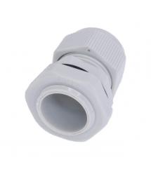 Кабельный спиральный водонепроницаемый разъем PG13,5, white
