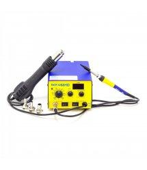 Паяльная станция BAKKU BK-601D цифровая индикация, фен, паяльник (247*237*140) 2.75 кг
