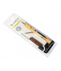 Набор инструментов BAKKU BK-327 (Ручка+6насадок), Blister