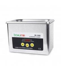 Ультразвуковая ванна BAKKU BK2400 Один режим работы (35W), металлический корпус, металлическая крышка (220*155*167) 1,2 кг