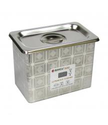 Ультразвуковая ванна BAKKU BK3050 Два режима работы (35W и 50W), металлический корпус (220*155*173) 1,2 кг