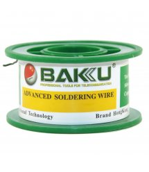 Припой BAKKU проволочный Solder wire BK10008 DIA 0,8mm (50g)