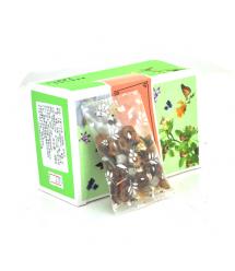 Китайский фруктовый чай с женьшенем 12g Q10