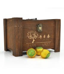 Китайский зеленый чай Xinhui Orange Puer со вкусом апельсина 5,5g Q30
