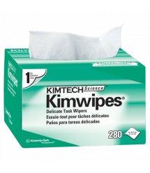 Cалфетки безворсовые для оптики KIMTECH Kimwipes 280шт