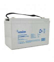 Аккумуляторная батарея MERLION 12V 100Ah (340x190x260) White Q1 GL121000M8