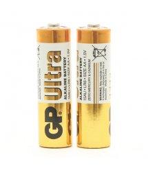 Батарейка GP Ultra щелочная AA 2шт в вакуумной упаковке 15AUEBC-2S2