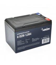 Тяговая аккумуляторная батарея AGM MERLION 6-DZM-12, 12V 12Ah М5 (151х98х101 мм) Q4
