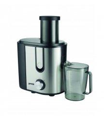 Соковыжималка Gorenje JC900E/ для всех фруктов и овощей/ 900 Вт / 2 скорости/пластик+металл/нерж.