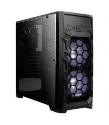 Корпус Antec GX202,Gaming, MidT, 2*USB3.0, 2*120мм LED white+1*120мм, акрил(бок.панель),безБП,черный