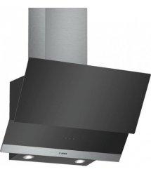 Вытяжка наклонная Bosch DWK065G60R - 60см./530 м3/черный+стекло