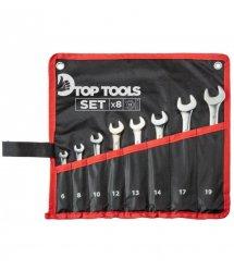 Набор ключей комбинированных Top Tools, 6-19 мм, набор 8 шт.