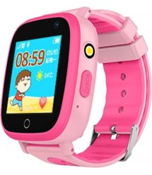 GoGPSme телефон-часы с GPS трекером К14[K14PK]