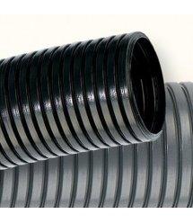 DKC Труба гофрированная, полиамид 6, ПВ-0, д.12мм, с протяжкой, чёрная, бухт.50м