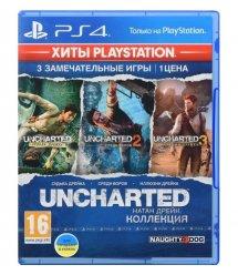 Игра PS4 Uncharted: Натан Дрейк. Коллекция (Хиты PlayStation)[Blu-Ray диск]