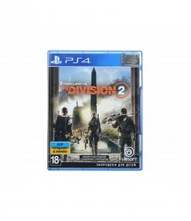 Игра PS4 Tom Clancy's The Division 2 [Blu-Ray диск]
