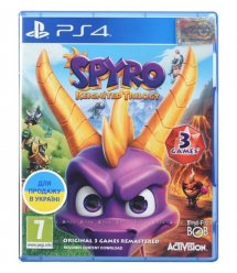 Игра PS4 Spyro Reignited Trilogy [Blu-Ray диск]