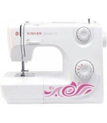 Швейная машина SINGER Studio 12, электромех., 9 швейных операций, петля полуавтомат, белый/розовый