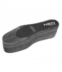 Neo Tools Стелька для обуви с активированным углем Actifresh - универсальный размер, 10 шт.
