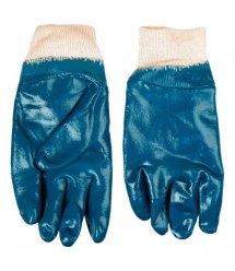 Topex Перчатки рабочие, х/б с нитриловым покрытием, размер 10.5