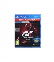 Игра PS4 Gran Turismo Sport (поддержка VR) (Хиты PlayStation) [Blu-Ray диск]