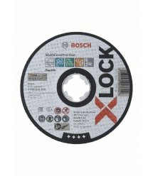 Отрезной круг Bosch X-LOCK Multi Material, 125x1.6x22.2мм
