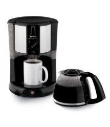 Капельная кофеварка Tefal SUBITO MUG CM290838, механика, 1000ВТ, 1,25л, черная/нержавеющая сталь