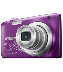 Цифр. фотокамера Nikon Coolpix A100 Purple Lineart