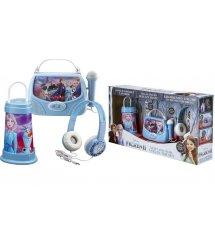Подарочный набор eKids Disney Frozen 2, Караоке + Портативный ночник + Наушники