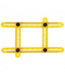 Линейка TOPEX для переноса измерений регулируемая, 25 см (шаблометр)