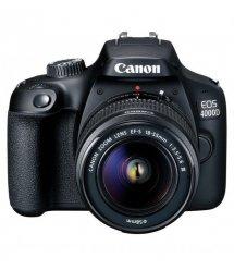 Цифр. фотокамера зеркальная Canon EOS 4000D + объектив 18-55 DC III