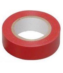 Изолента DKC 0.13X15 10м, красная