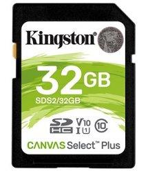 Карта памяти Kingston 32GB SDHC C10 UHS-I R100MB/s
