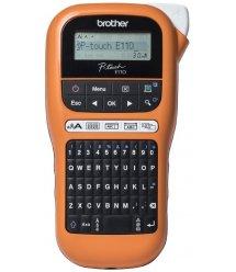 Brother Принтер для печати наклеек P-Touch PT-E110VP в кейсе с доп.расходными материалами
