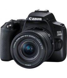 Цифр. фотокамера зеркальная Canon EOS 250D kit 18-55 IS STM Black