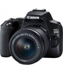 Цифр. фотокамера зеркальная Canon EOS 250D kit 18-55 DC III Black