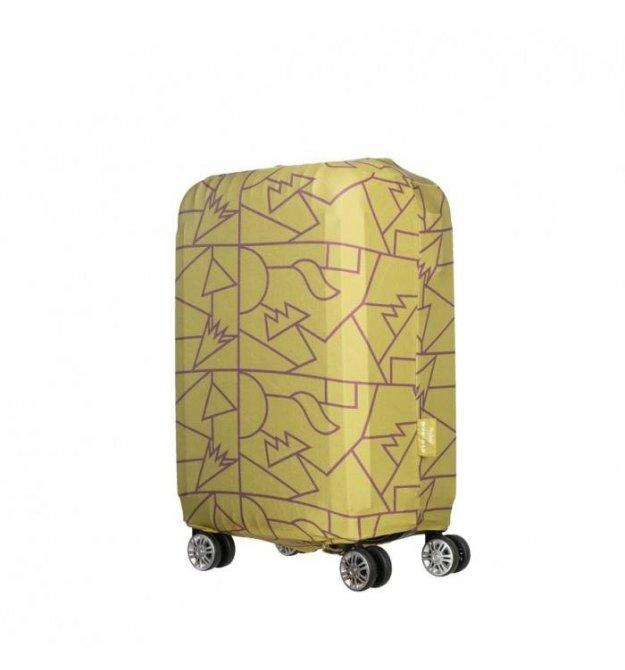 Чехол для чемодана Tucano Compatto Mendini S, Лайм